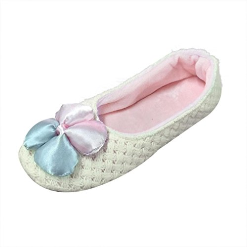 Women Shoes Women skid Pregnant Warm White Waterproof Home Knit Euone Anti Shoes UIvZqdUx