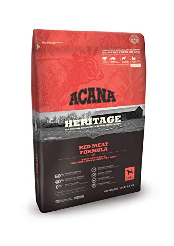 ACANA Heritage Dry Dog Food, Red Meat