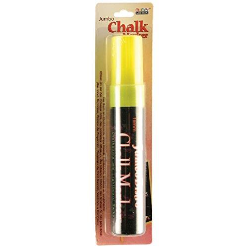 (Uchida Of America 481-C-F5 Jumbo Bistro Chalk Markers, Fluorescent Yellow)