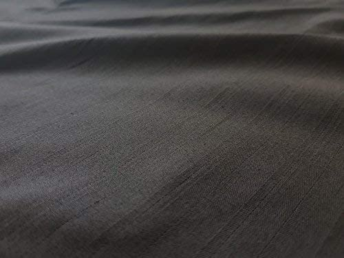 uk-Fabrics-Online - Tela de algodón para manualidades, color negro, algodón, negro, 5 m: Amazon.es: Amazon.es