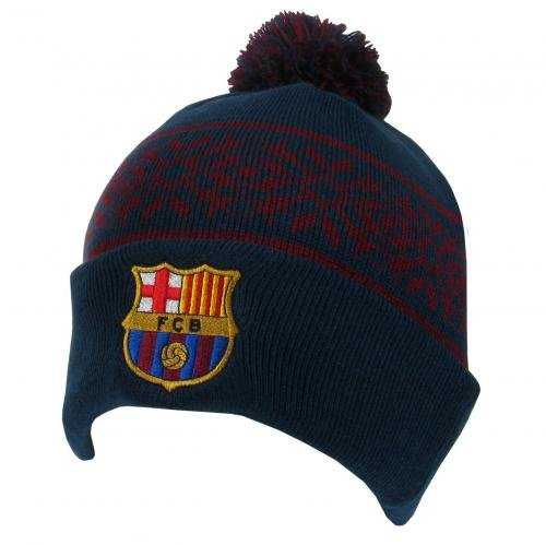 (FC Barcelona Authentic Knitted Ski Hat)