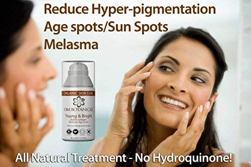 ORGANIC MOISTURIZER & Corrector Young Bright anti wrinkle Cream, Spot and Pigmentation treatment