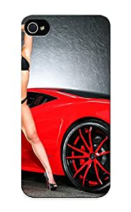 New Tpu Hard Case Premium Iphone 5/5s Skin Case Cover(cars With Girls ) For Christmas Gift