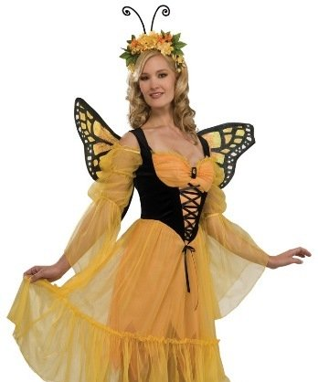 Rubie's Costume Monarch Butterfly Costume, Standard (Butterfly Costumes For Women)
