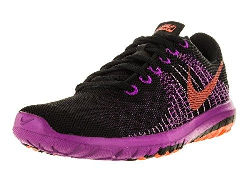 Zapatillas Para Correr Nike Flex Fury Para Mujer Negro / Fuchsia Glow / Vivid Purple / Hyper