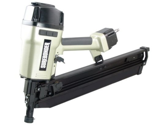 Surebonder 9772 Pneumatic 21 Degree Round Head 3-1/2″ Framing Nailer with Carrying Case
