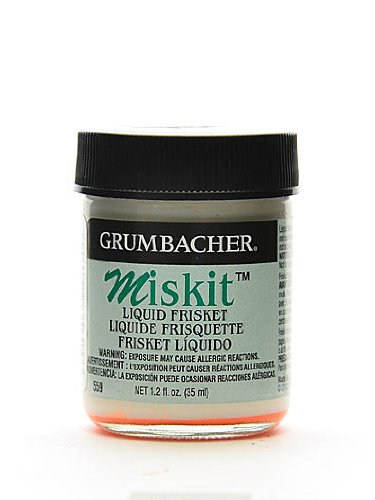 Grumbacher Miskit Liquid Frisket 1.2 oz. [PACK OF 2 (Miskit Liquid)