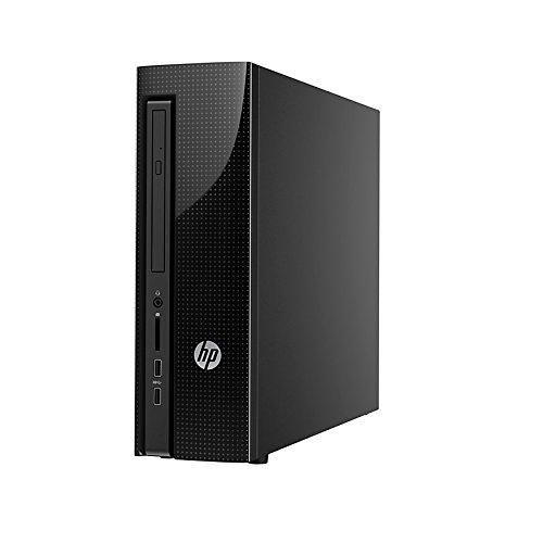 2016 HP Pavilion Slimline 450 Desktop (AMD Dual-Core Processor, 4 GB RAM, 500 GB HDD, WiFi, DVD, Windows 8.1 Upgradable