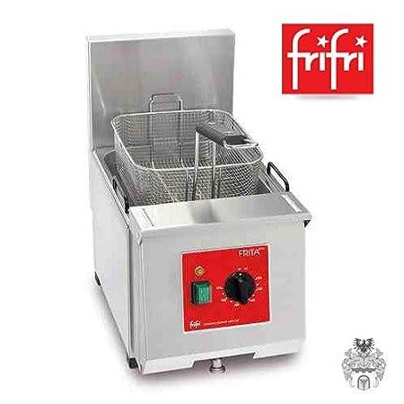 Frifri frita + 6 7L 4, 6 kW 400 V eléctrico de acero inoxidable de ...