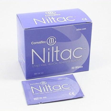CONVATEC NILTAC TOALLITAS 30 UNI