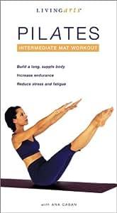 Pilates Intermediate Mat Workout Import Gaiam Pilates