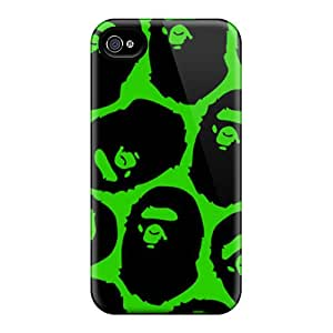 Shock Absorbent Cell-phone Hard Cover For Iphone 6 With Provide Private Custom High Resolution Bape Skin JohnPrimeauMaurice