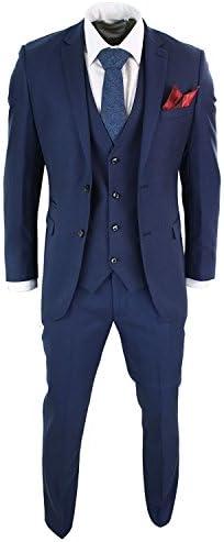 メンズスーツ セットアップ 大きいサイズ ベスト付き 二次会 新郎 礼服 オーダースーツ