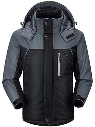 Amazon.com: CIOR Men and Women Snow Jacket Windproof