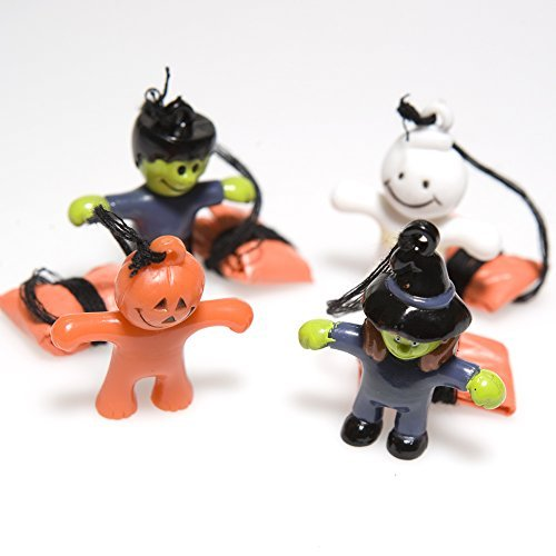Mini Halloween Character Paratroopers by Fun Express
