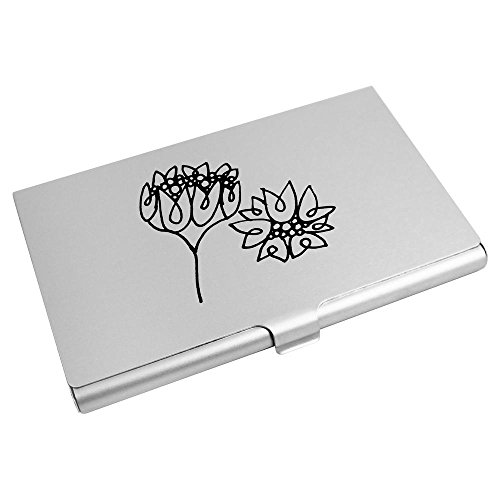 'Pretty Card Azeeda Business CH00008618 Flowers' Card Credit Wallet Holder vYqaPwqd