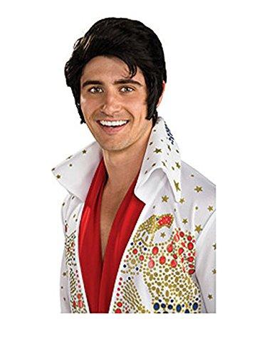 Elvis Now Wig, Black, One