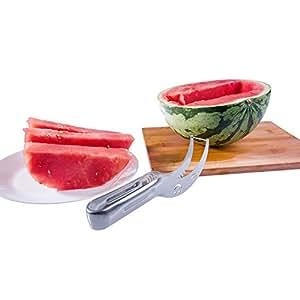 OSHIDE Watermelon Slicer Corer & Server Knife Strainless Steel