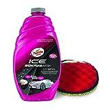 Turtle Wax 53222 ICE Snow Foam Wash & Wax with Premium Wash Mitt - 48. Fluid_Ounces
