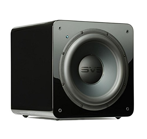 SVS SB-2000 Subwoofer (Piano Gloss Black) - 12-inch Driver, 500-Watts RMS, Sealed Cabinet