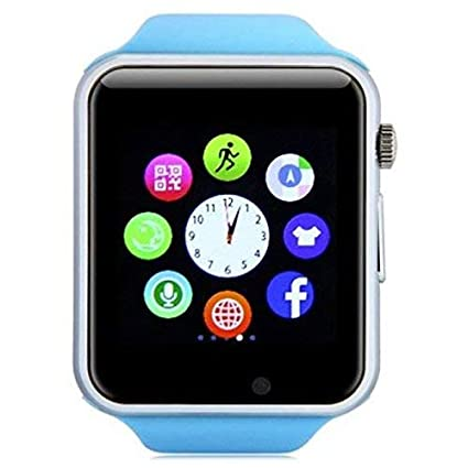 Amazon.com: NOKKOO A1 Smart Watch Smart Band Touch Watch ...