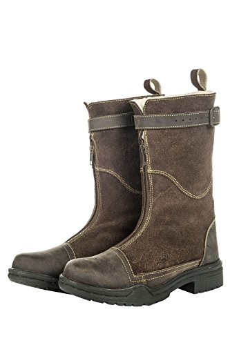 HKM 3/4 boots -Yorck- with faux fur lining Horse Riding Equestrian 8420 zvKAL