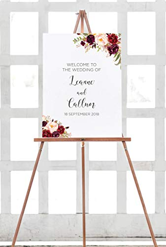 Dozili Wedding Welcome Sign - Welcome Sign -