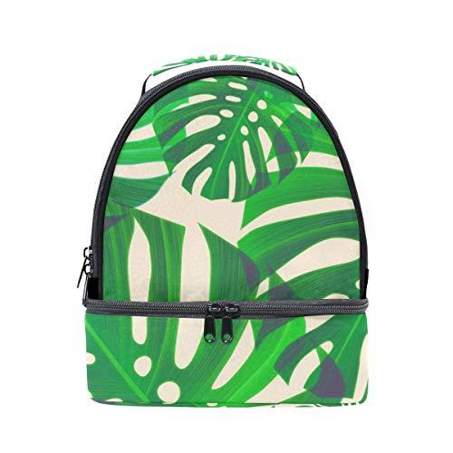 el Bolsa tropical con palma para escuela de hombro correa con aislante diseño almuerzo de para pincnic de la FOLPPLY ajustable 0tdxwYFOq0