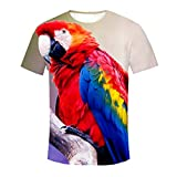 F_Gotal Shirts for Mens, Men's Fashion Round Neck T-Shirts Short Sleeve Big and Tall Casual Slim Fit Tees Leisure Blouse Tops