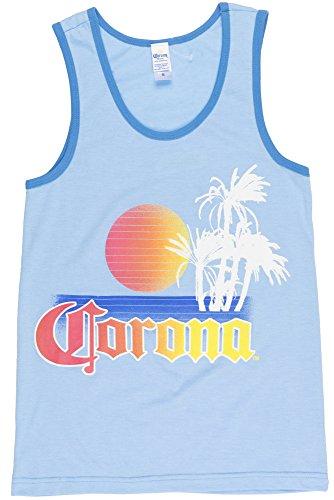 Corona Extra Mens Tank Top in Light (Corona Trim)