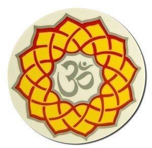 Native Visions Illuminations Dharmaseals Decals, Golden Lotus