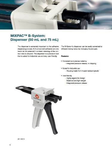 MixPac DMA50 Dispensing Gun Kit for 50ml Epoxy & Adhesive Cartridges (1:1 & 2:1 Ratios) by MixPac (Image #5)