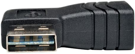 UR024-000-RA Reversible A to Right Angle A M//F Tripp Lite Universal Reversible USB 2.0 Hi-Speed Adapter