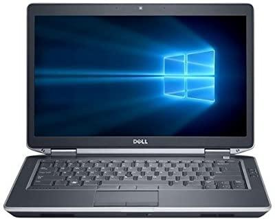 "2018 Dell Latitude E6430 Premium 14.1"" Busines Laptop Computer, Intel Dual-Core i5-3210M up to 3.1GHz Processor, 8GB RAM, 180GB SSD, DVD, HDMI, Windows 10 Professional (Certified Refurbished)"