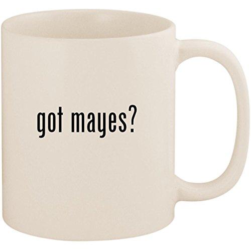 got mayes? - 11oz Ceramic White Coffee Mug Cup, White
