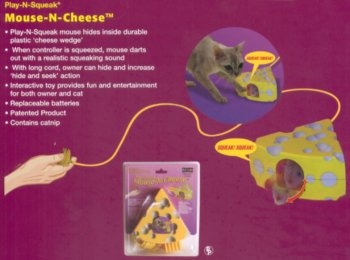 Our Pets Play-N-Squeak with Cheese, My Pet Supplies