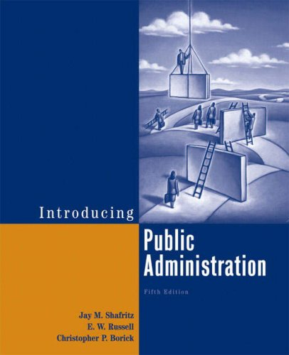 Introducing Public Administration (5th Edition)