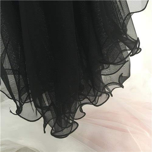 - One Piece - Soft Tulle Lace Fabric Gauze Material for Baby Dress Sewing Lace Fabric Pink/Black/White