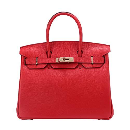 En Mode épaule à De Main Sac En Portable Cuir Nouveau Marque Rouge Première Litchi Sac Femme Cuir Platine Sac Grand Couche Sac WWaTqY