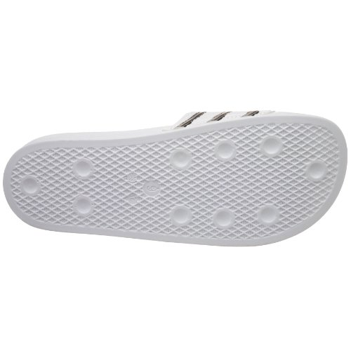 Adidas Mens Adilette Sporten Slide, Vit / Svart, 7 D (m) Oss Vit / Svart