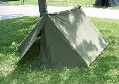 U.S. Military Tent Half Shelter, Outdoor Stuffs