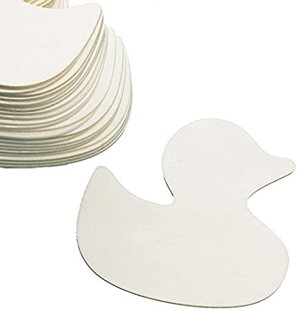 Duck Style 2 Unfinished Wood Shape Cut Outs Variety of Sizes USA Made Kids Nursery Theme