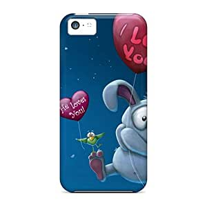 Tpu Case For Iphone 5c With LauraGroff-Y Design