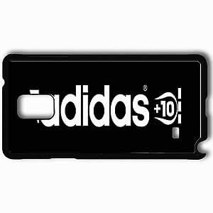 Personalized Samsung Note 4 Cell phone Case/Cover Skin Adidas Football Black WANGJING JINDA