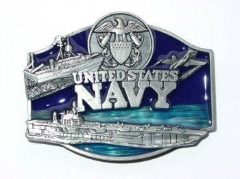 Navy Official Military Belt Buckles (Navy Belt Buckle)
