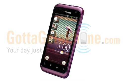 HTC Rhyme 6330 Purple Verizon Wireless [Retail-Packaging] (Cell Rhyme Phones Htc Verizon)