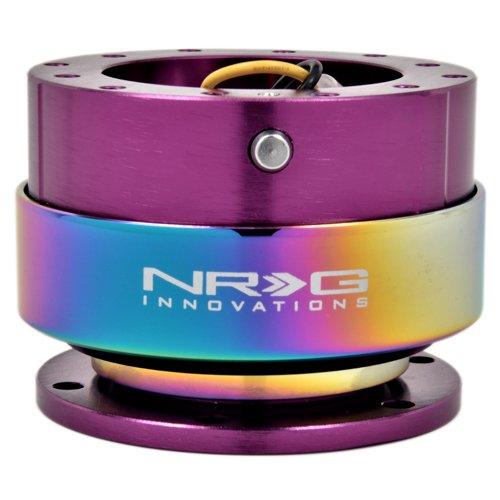 2 set x NRG Steering Wheel Quick Release Gen 2.0  Neochrome