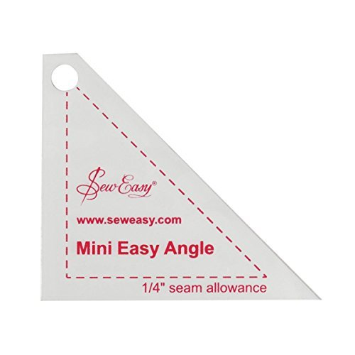 Sew Easy Mini Easy Angle Quilting/Patchwork Template by Sew Easy by Sew Easy