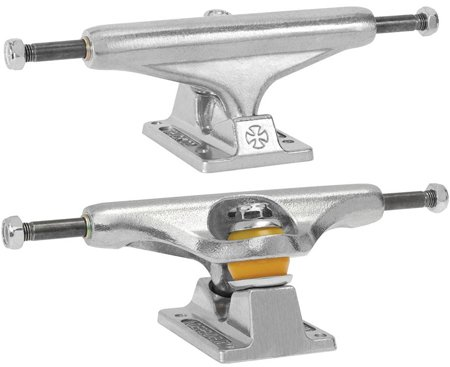 Independent Silver 139mm Trucks 8.0' Skateboard