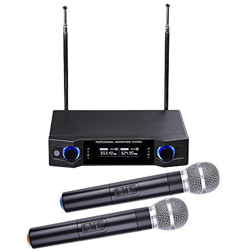 AW Channel Handheld Wireless Microphone